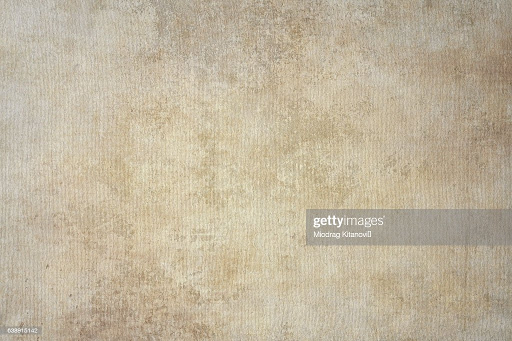 Rugged Wrinkled Beige Paper Background Stock Ilration