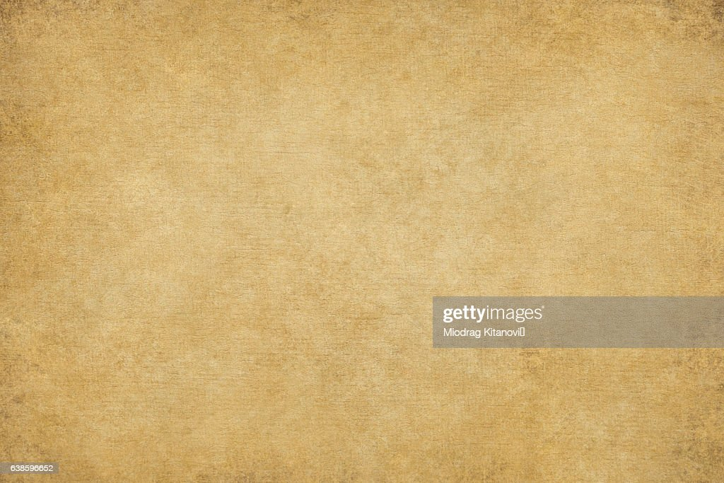 Rugged Wrinkled Yellow Paper Background Stock Ilration