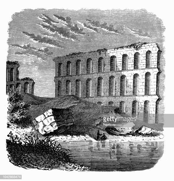 Ruinas del acueducto de Cartago