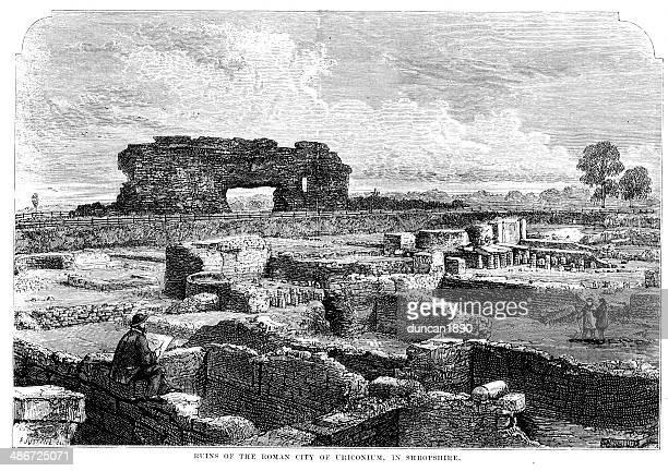 Ruins of Viroconium Cornoviorum