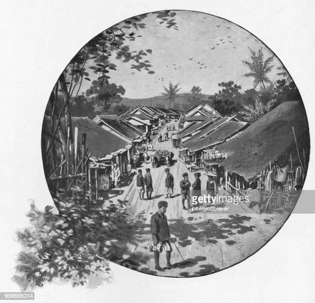 Rural Village in India - British Era