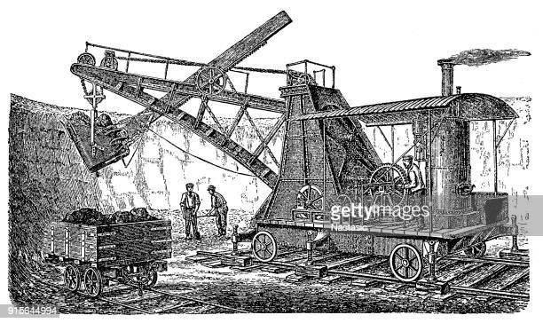 Ruston steam excavator