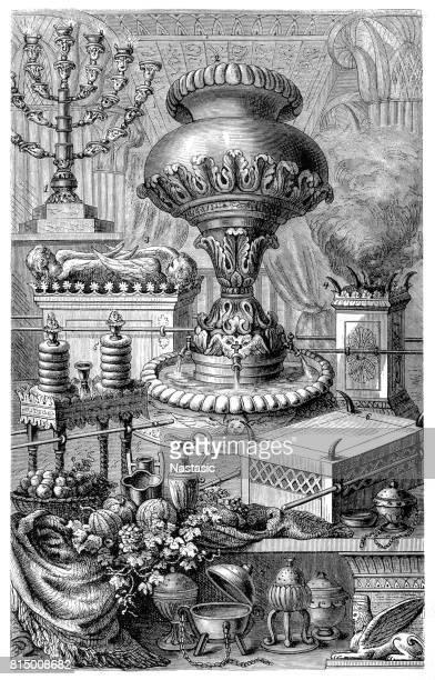 ユダヤ人の神聖な機器 - 聖約の箱点のイラスト素材/クリップアート素材/マンガ素材/アイコン素材