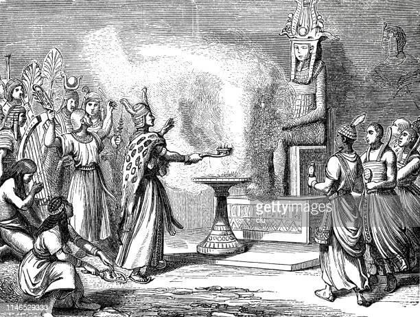 古代エジプトで祭司を犠牲にする - 犠牲プレイ点のイラスト素材/クリップアート素材/マンガ素材/アイコン素材