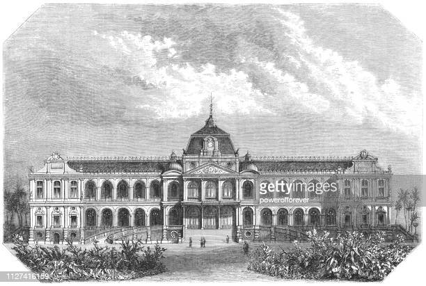 Saigon Governor's Palace in Saigon, French Cochinchina - 19th Century