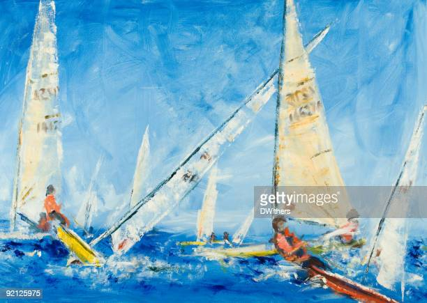 Sailing Dinghys Racing