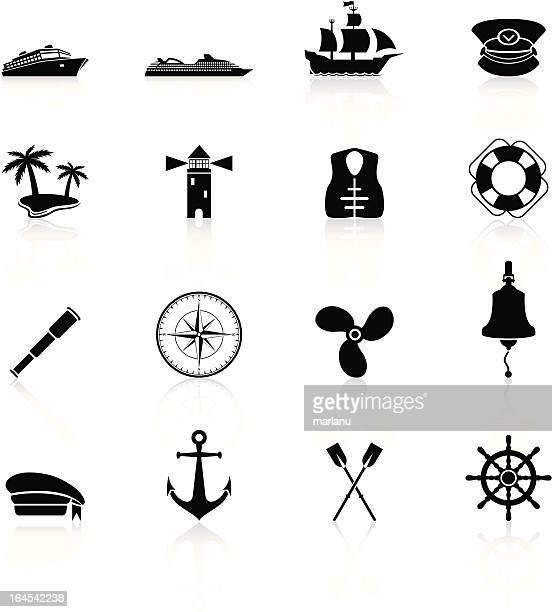 Sailing Icons - Black Series