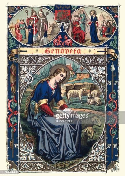 Saint Genevieve (Sancta Genovefa)