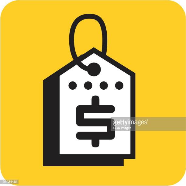 sales tag - consumerism stock illustrations