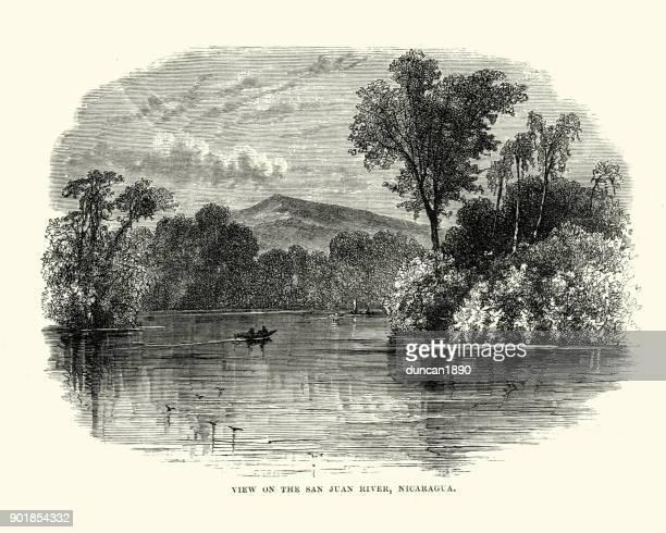 San Juan River, Nicaragua, 19th Century