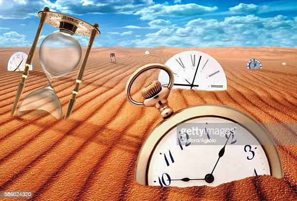 sands of time - surreal stock illustrations, clip art, cartoons, & icons