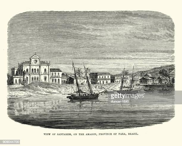 Santarem, Para, Brazil 19th Century