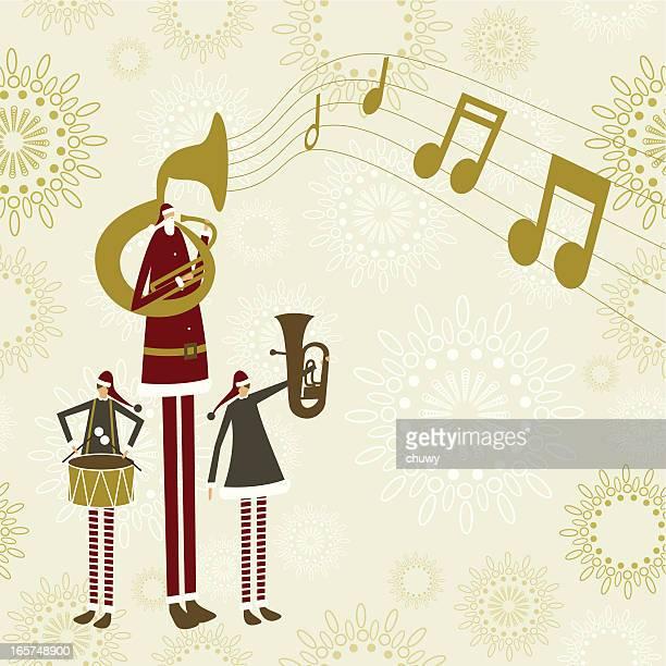 サンタクリスマスバンド