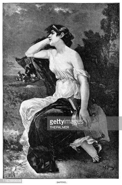 Sappho engraving 1892