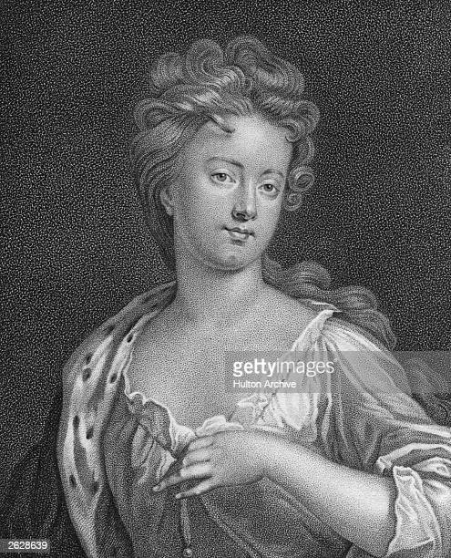 Sarah Jennings, Duchess of Marlborough , wife of John Churchill, 1st Duke of Marlborough, circa 1680. A trusted lady in waiting to Queen Anne of...