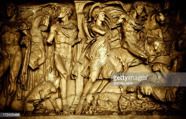 sarcophagus in camposanto - pisa stock illustrations, clip art, cartoons, & icons