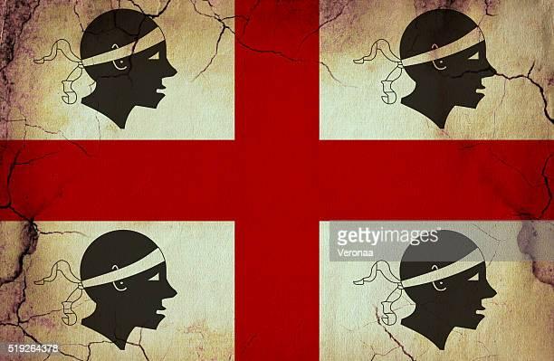 sardinia grunge flag - sardinia stock illustrations, clip art, cartoons, & icons