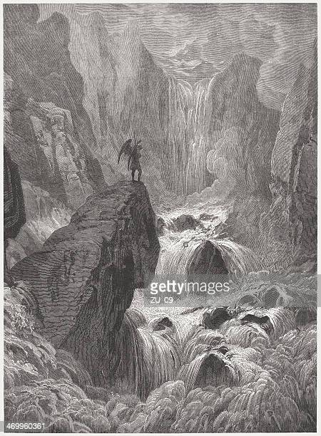 Satan at the Hellmouth, by Gustave Doré (1832-1883), published 1879