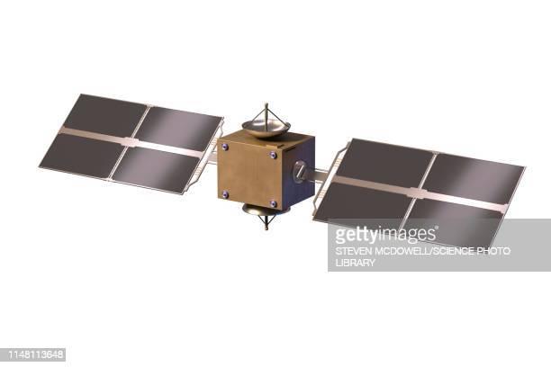 satellite, illustration - 人工衛星点のイラスト素材/クリップアート素材/マンガ素材/アイコン素材