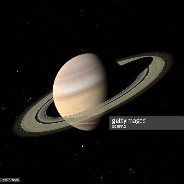 saturn, artwork - saturn planet stock illustrations