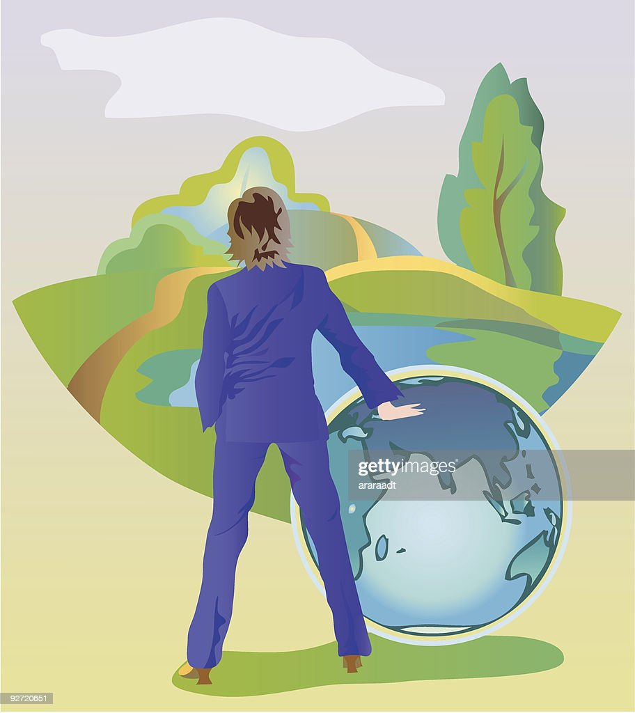 Save Our Green World Vector Art Getty Images