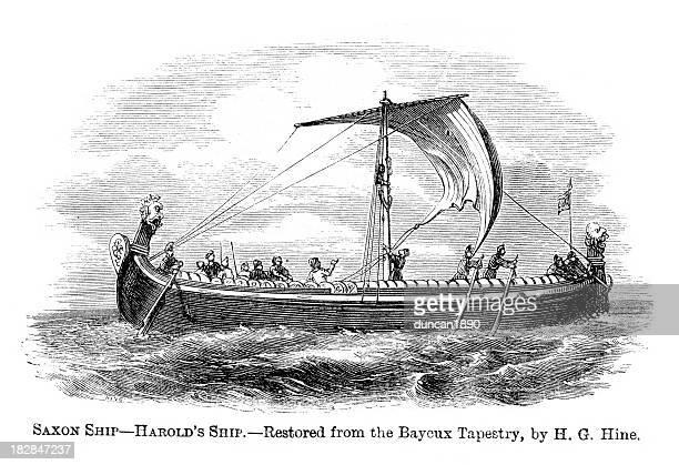 Saxon Ship