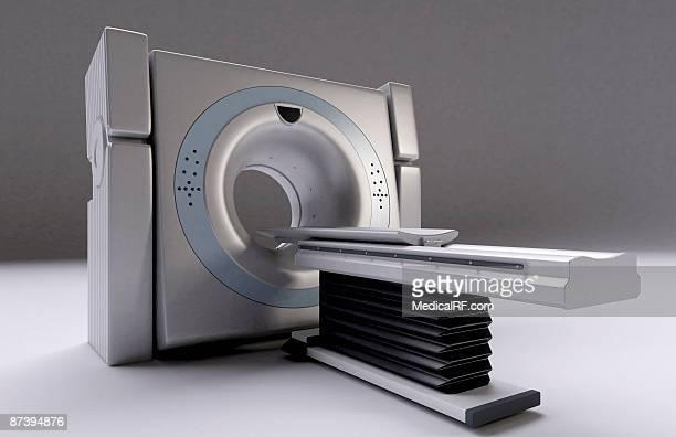 a ct scanner - ctスキャナー点のイラスト素材/クリップアート素材/マンガ素材/アイコン素材