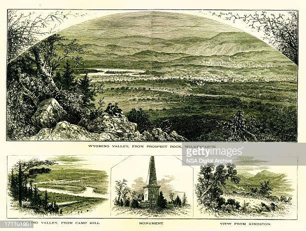 Scenes in Wyoming Valley, Pennsylvania