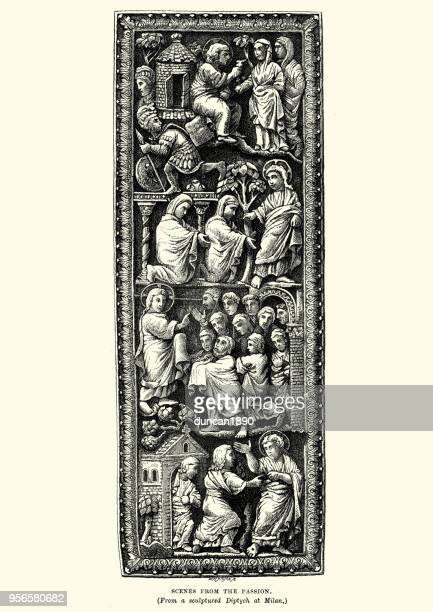 30 Meilleurs The Passion Of Jesus Illustrations Cliparts Dessins