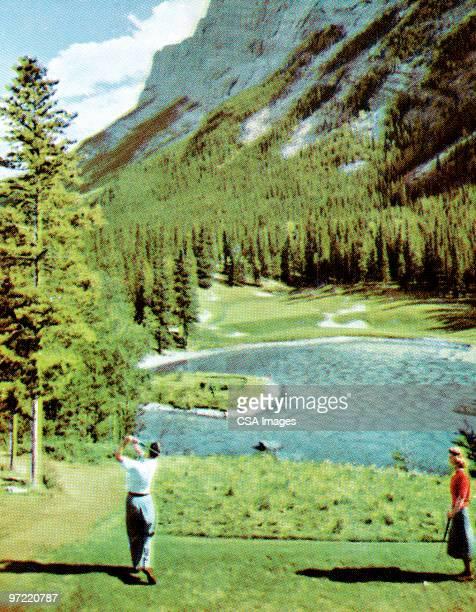 Scenic golfing