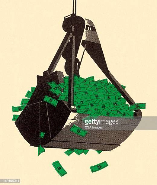 Scoop Full of Money