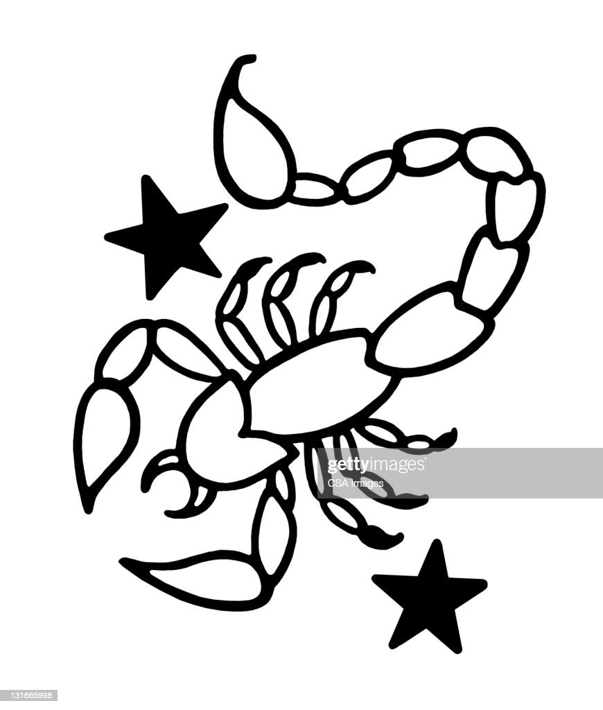 Scorpio Zodiac Symbol Stock Illustration Getty Images