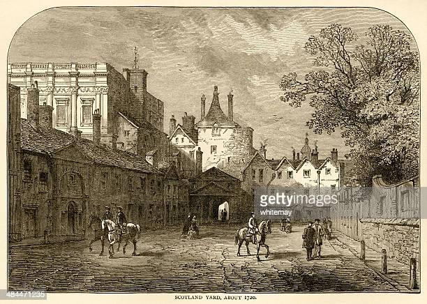Scotland Yard, London (Whitehall), about 1720