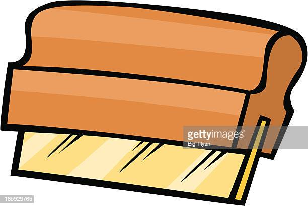 screen printing squeegee - silk screen stock illustrations, clip art, cartoons, & icons