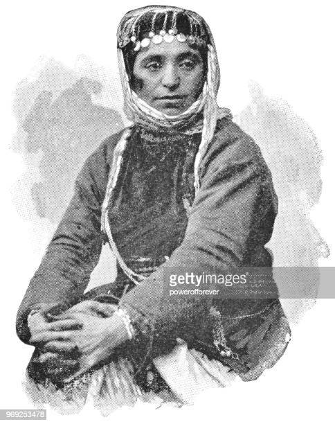 A Scutari Woman in Istanbul, Turkey - Ottoman Empire