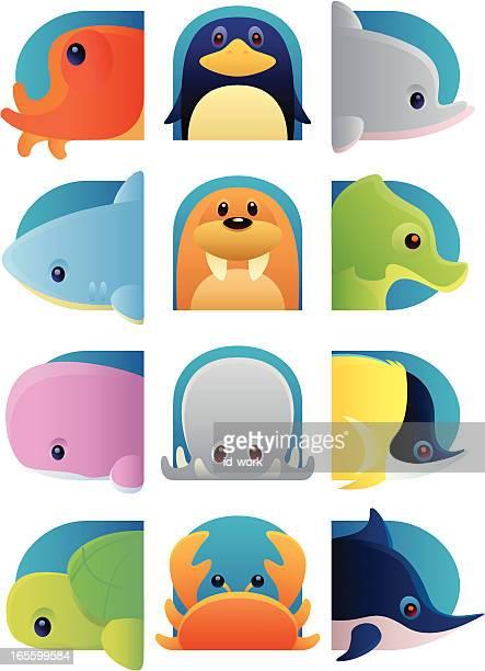 sea animals - butterflyfish stock illustrations, clip art, cartoons, & icons