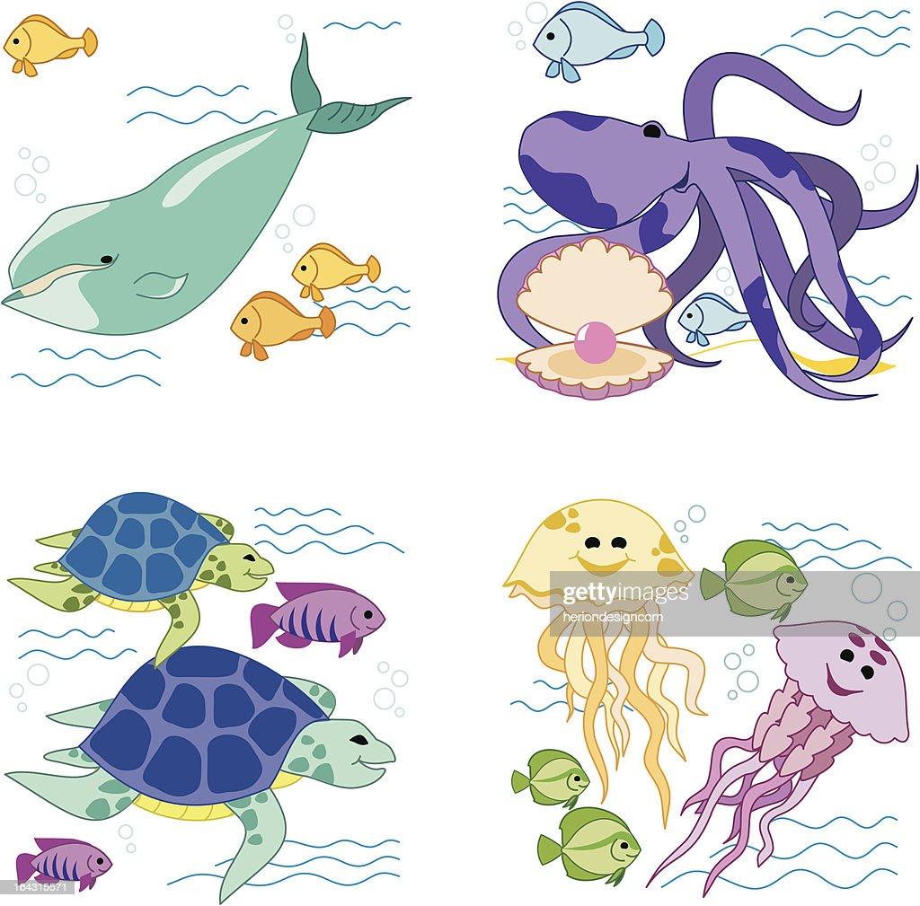 Sea Animals part 1