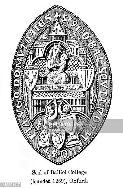 Seal of Balliol Collage, Oxford