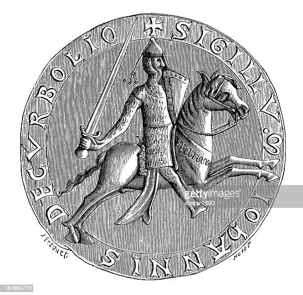 ilustrações, clipart, desenhos animados e ícones de colônia de john lord corbeil - great seal