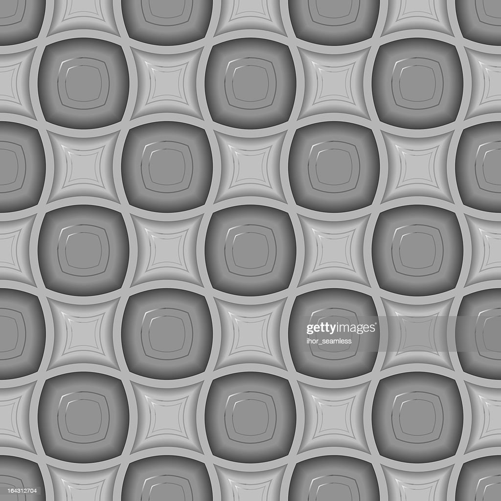 Seamless 3d tile pattern