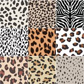 seamless animal skin swatch
