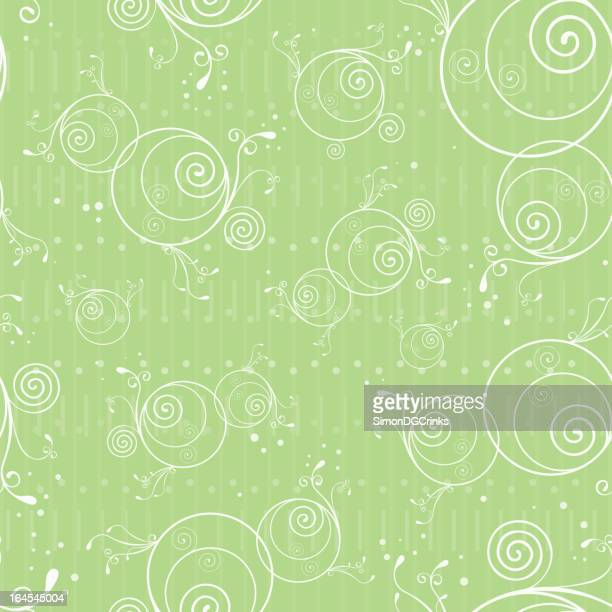 seamless spring floral pattern - pollen stock illustrations, clip art, cartoons, & icons