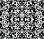 Seamless Zebra Skin Wallpaper Pattern