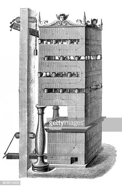 Section of a furnace