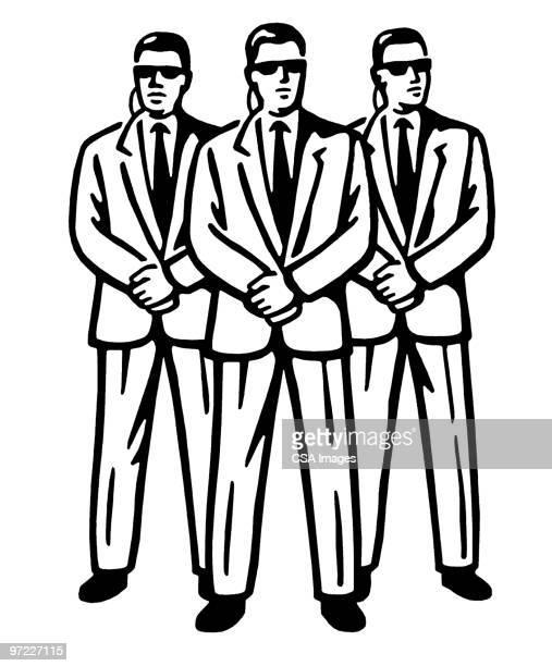 security - uniform stock illustrations