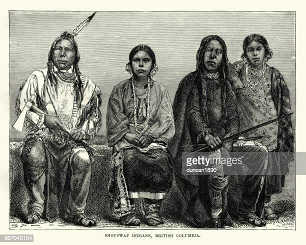 Secwepemc First Nations people, British Columbia, 19th Century