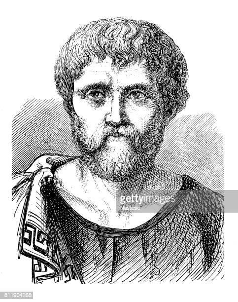 ilustrações, clipart, desenhos animados e ícones de sêneca, o jovem (c. 4 a.c. – 65 d.c.), totalmente lucius annaeus seneca e também conhecido simplesmente como seneca - filósofo