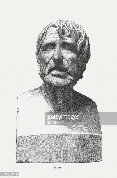 Seneca the Younger (Roman philosopher, c.4 BC-AD 65), published 1884