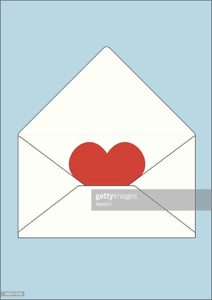 Sent with love (Zipped file includes eps and jpeg versions)