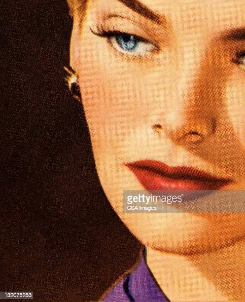 serious woman - beautiful woman stock illustrations